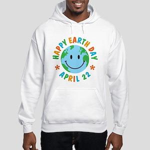 Happy Earth Day Hooded Sweatshirt