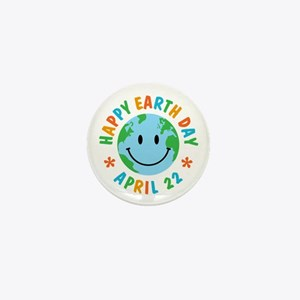Happy Earth Day Mini Button