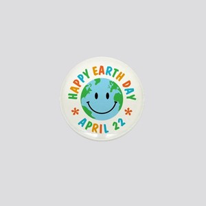 Happy Earth Day Mini Button