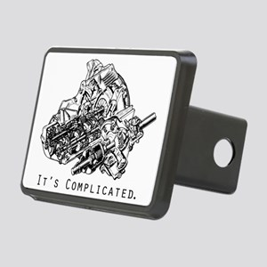 It's Complicated Rectangular Hitch Cover