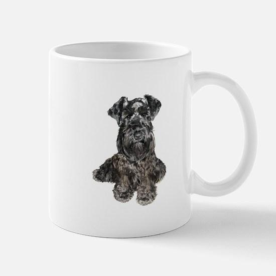 Schnauzer (gp-blk) Mug