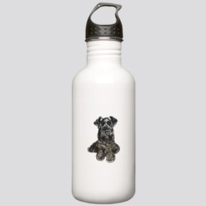 Schnauzer (gp-blk) Stainless Water Bottle 1.0L