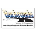 Backroads Magazine 10-Pal Stickers