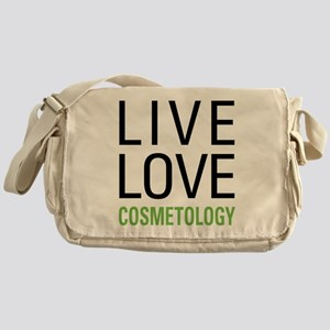 Live Love Cosmetology Messenger Bag