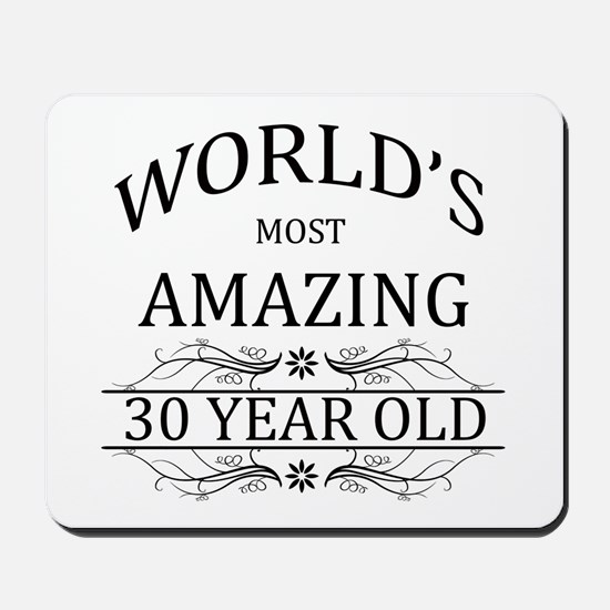 World's Most Amazing 30 Year Old Mousepad