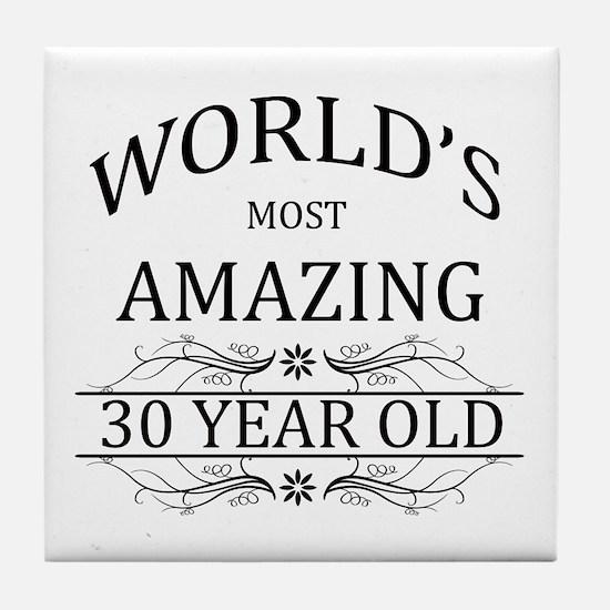 World's Most Amazing 30 Year Old Tile Coaster