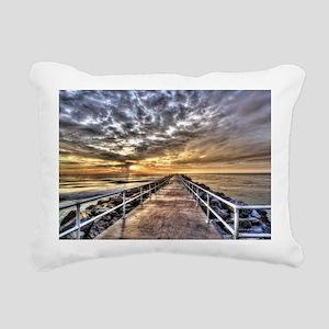 Walk To The Horizon Rectangular Canvas Pillow