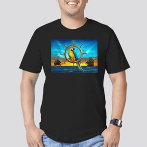 MACAW PIRATE PARROT T-Shirt