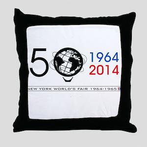 The Unisphere turns 50! Throw Pillow