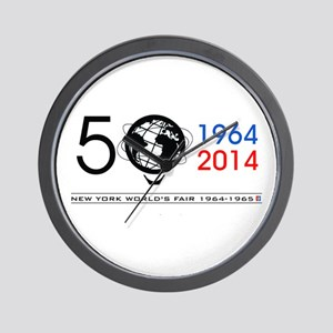 The Unisphere Turns 50! Wall Clock