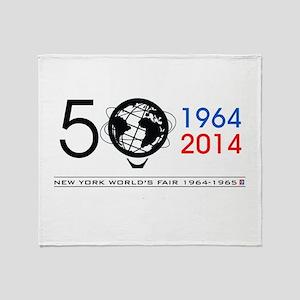 The Unisphere turns 50! Throw Blanket