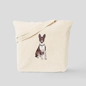 Basenji (brindle) Tote Bag