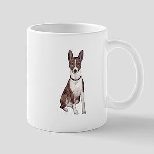 Basenji (brindle) Mug