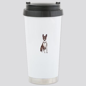 Basenji (brindle) Stainless Steel Travel Mug