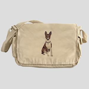 Basenji (brindle) Messenger Bag