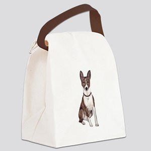 Basenji (brindle) Canvas Lunch Bag