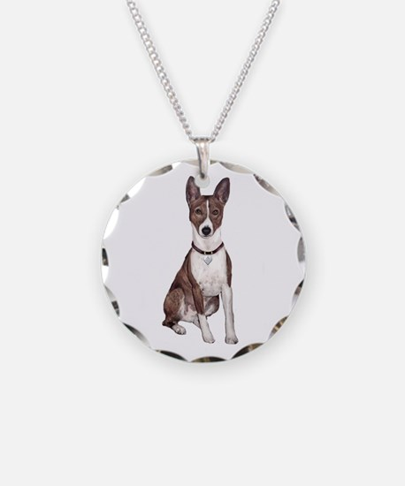 Basenji (brindle) Necklace