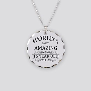 World's Most Amazing 16 Year Necklace Circle Charm
