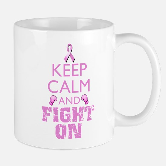 KeepCalmFightOn Mugs