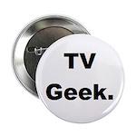TV Geek. Button (10 pk)