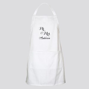 Mr. & Mrs. Personalized Monogrammed Apron