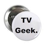 TV Geek. Button (100 pk)