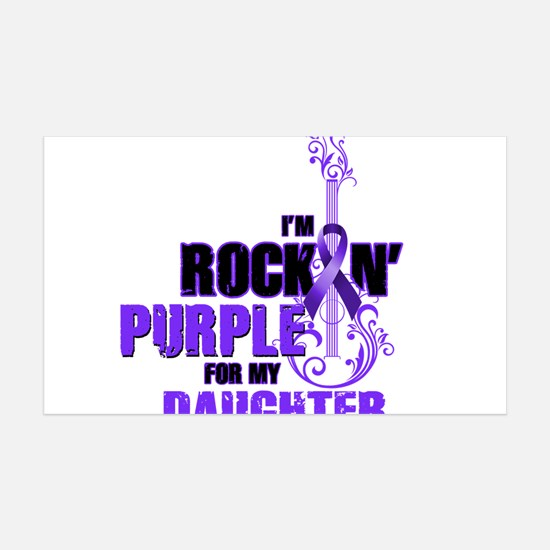 RockinPurpleForDaughter Wall Decal