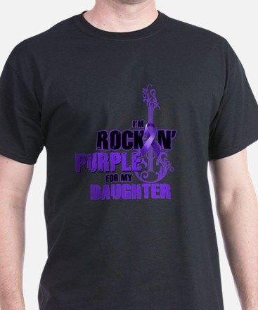 RockinPurpleForDaughter T-Shirt