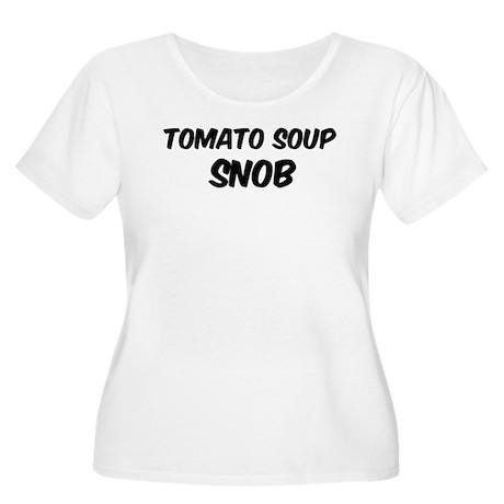 Tomato Soup Women's Plus Size Scoop Neck T-Shirt