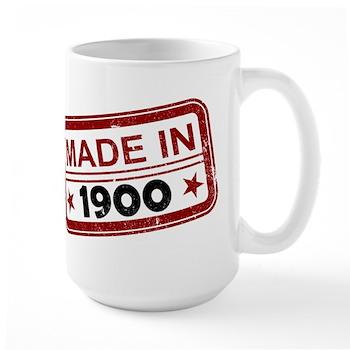 Stamped Made In 1900 Large Mug