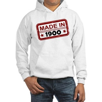 Stamped Made In 1900 Hooded Sweatshirt
