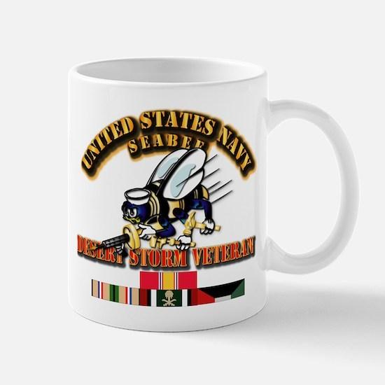 Navy - Seabee - Desert Storm Vet Mug