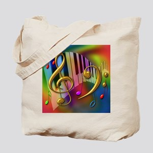 Colors of Music Tote Bag