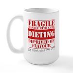 Diet - Dont piss me off Large Mug