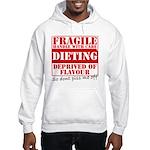 Diet - Dont piss me off Hooded Sweatshirt