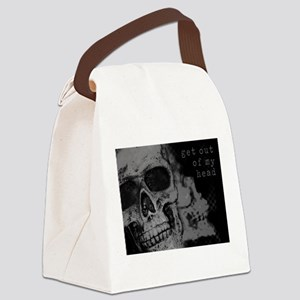 Get Out of My Head Canvas Lunch Bag