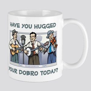 Mug: Hugged your dobro