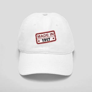 Stamped Made In 1917 Cap