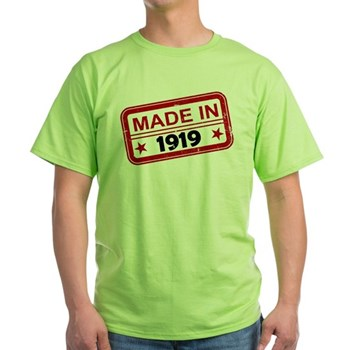 Stamped Made In 1919 Light T-Shirt