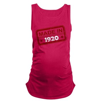Stamped Made In 1920 Maternity Tank Top