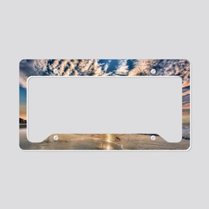 Folly Beach License Plate Holder