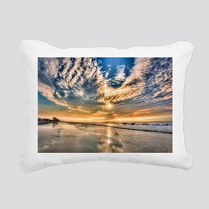 Folly Beach Rectangular Canvas Pillow