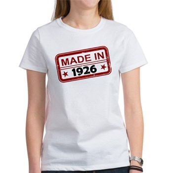 Stamped Made In 1926 Women's T-Shirt