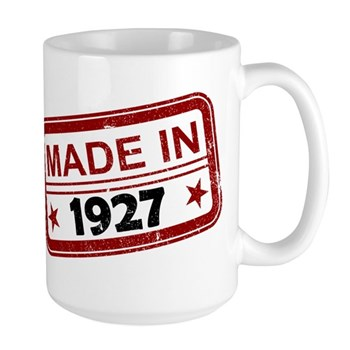 Stamped Made In 1927 Large Mug
