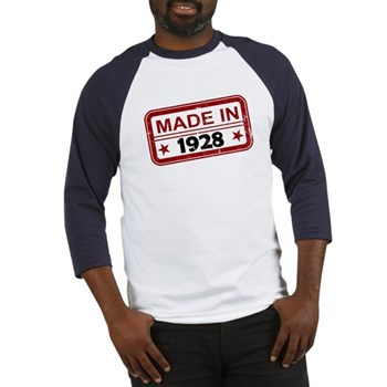 Stamped Made In 1928 Baseball Jersey