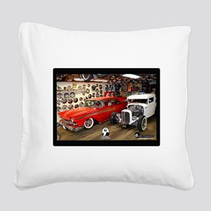 Bo Huff Museum 3 Square Canvas Pillow