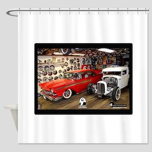 Bo Huff Museum 3 Shower Curtain