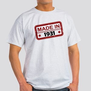 Stamped Made In 1931 Light T-Shirt
