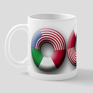 USA - Italy Mug