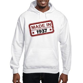 Stamped Made In 1937 Hooded Sweatshirt